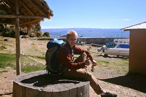 Backpacking am Largo Titikaka
