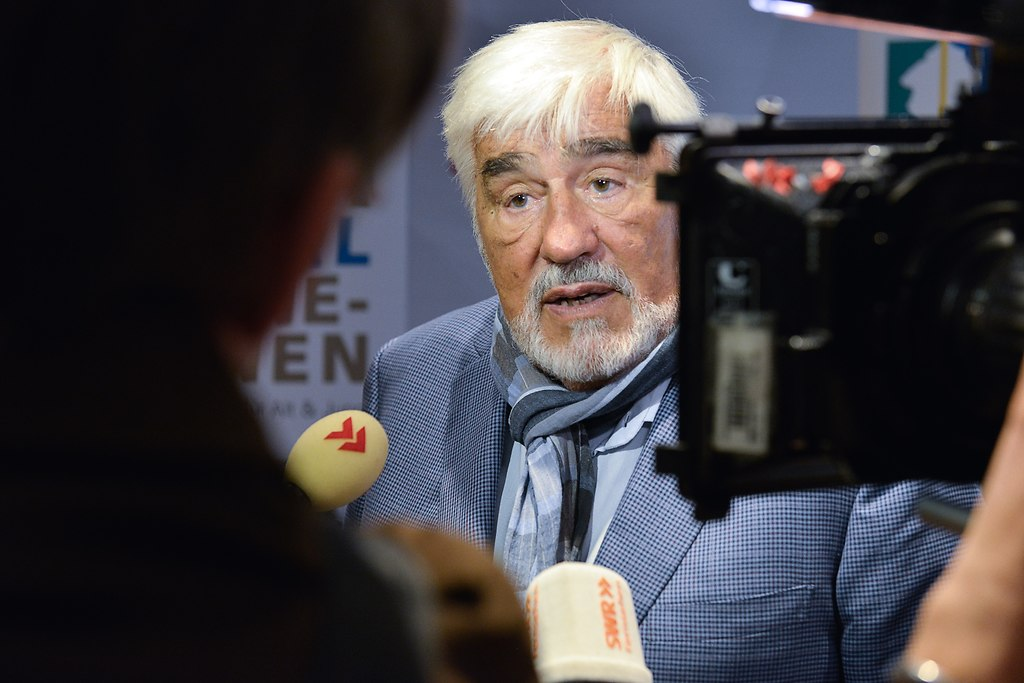 | Mannheim 07.010.2014 Cinemaxx Pressetermin mit Mario Adorf Foto:Thomas Rittelmann