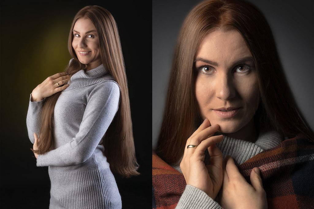   Studioportrait Beauty shootingL studio-unterwerk.de   Studio Portrait foto shooting beauty Visagie Visagistin Frau weiches Licht natürlich