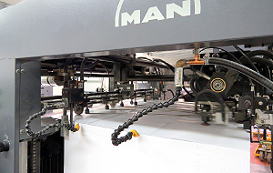Papieranlage Druckmaschine