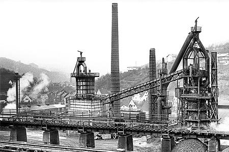 Hütten- & Bergbau im Kreis Siegen