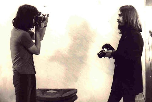 Bubi fotografiert George Harrison
