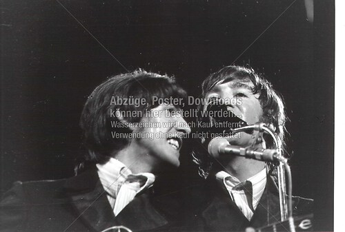 George und John live Circus Krone 1966 01