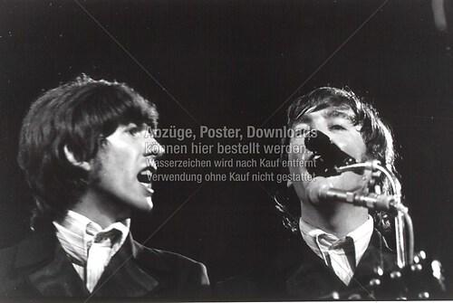 George und John live Circus Krone 1966 02