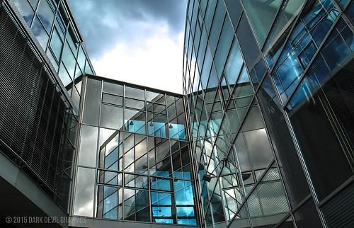 Glasgebäude Esslingen