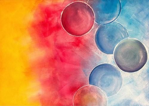 Acryl Bubbles