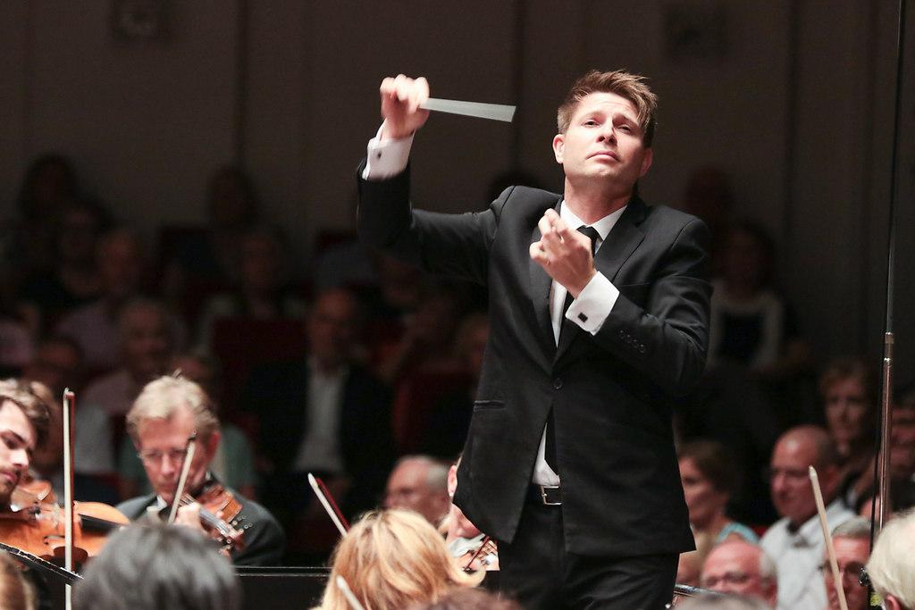 NDR Elbphilharmonie Orchester (fotonick--2922) | Christian Gerhaher Bariton NDR Elbphilharmonie Orchester Krzysztof Urbanski Dirigent-Foto Axel... | fotonick Kiel
