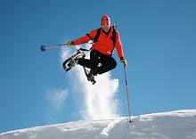 Snowshoeing 02-08  Schlickenrieder Sprung (1)