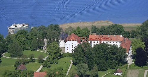 Herrenchiemsee altes Schloss Luft-06-0509