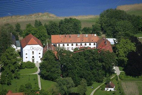 Herrenchiemsee altes Schloss Luft-10-0509