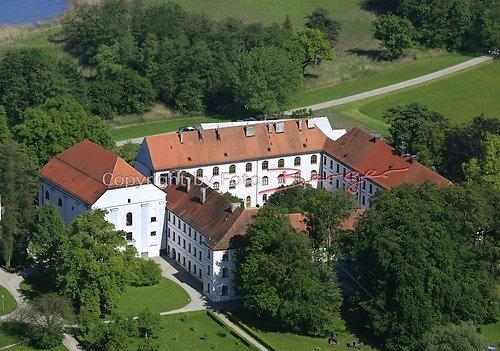 Herrenchiemsee altes Schloss Luft-13-0509