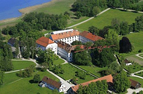 Herrenchiemsee altes Schloss Luft-17-0509