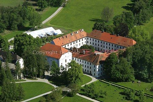 Herrenchiemsee altes Schloss Luft-18-0509