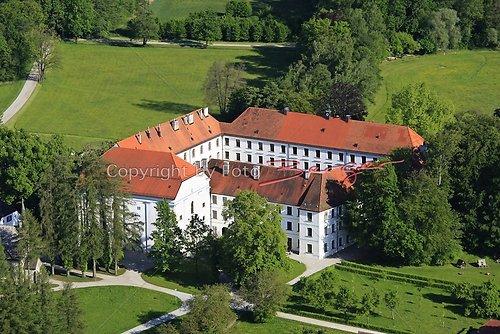 Herrenchiemsee altes Schloss Luft-29-0509