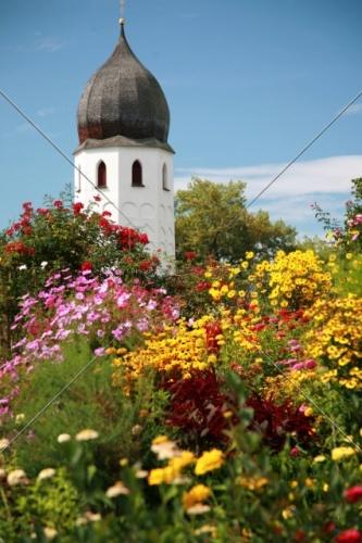 Fraueninsel Campanile + Klostergarten 31-09052008