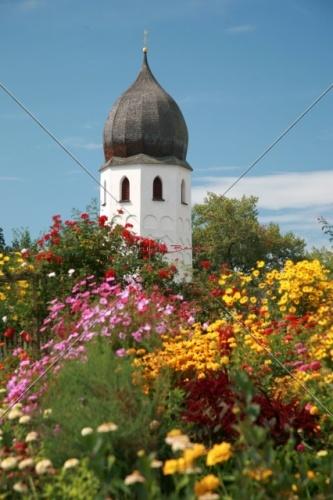 Fraueninsel Campanile + Klostergarten 33-09052008