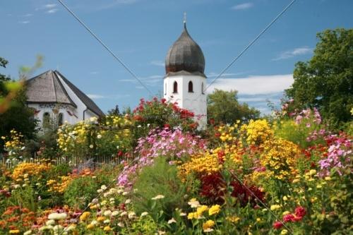 Fraueninsel Campanile + Klostergarten 34-09052008