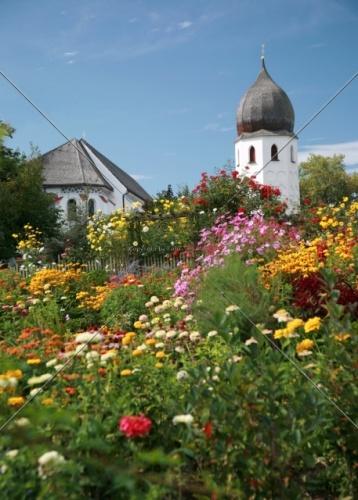 Fraueninsel Campanile + Klostergarten 32-09052008