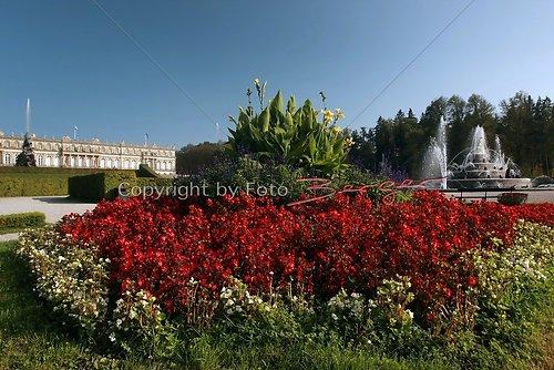 Schloss Herrenchiemsee Garten 1