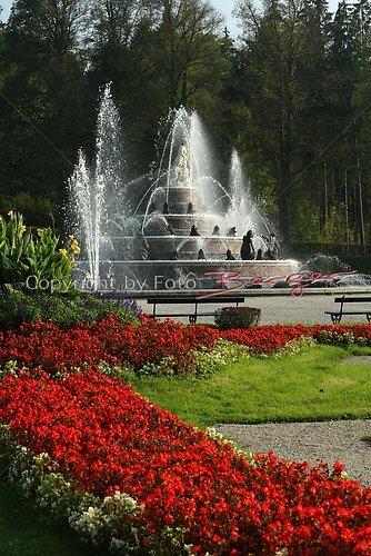 Schloss Herrenchiemsee Garten 2