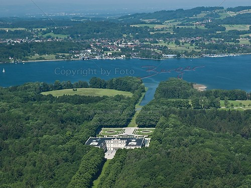 A-Schloss Herrenchiemsee+ Prien Stock-Luft 09062010-35