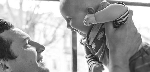 Photoshooting Babys und Familie