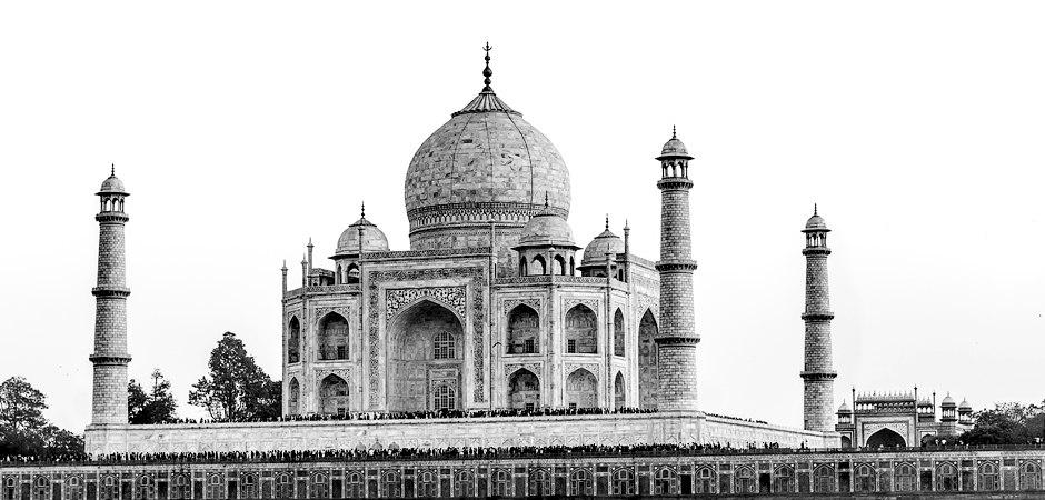 Wandbild Taj Mahal Indien