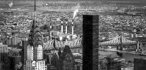 Wandbild Manhattan New York Skyline vom Empire State Building
