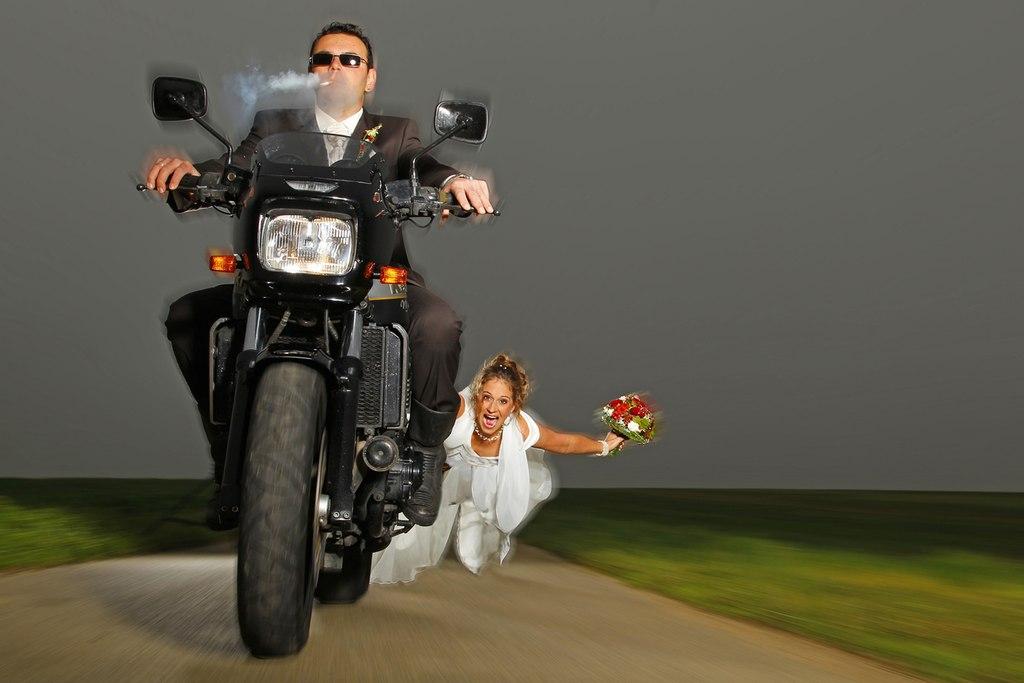 Abgefahrene Hochzeit