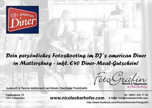 Flyer Shooting Diner
