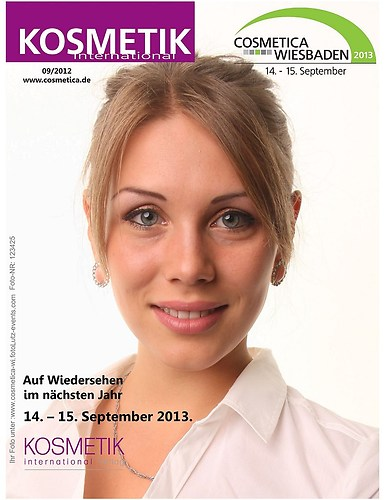 Cosmetica  Wiesbaden Cover Shooting mit Event Sofortdruck