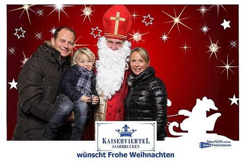 Fotos mit dem Weihnachtsmann in Saarbrücken